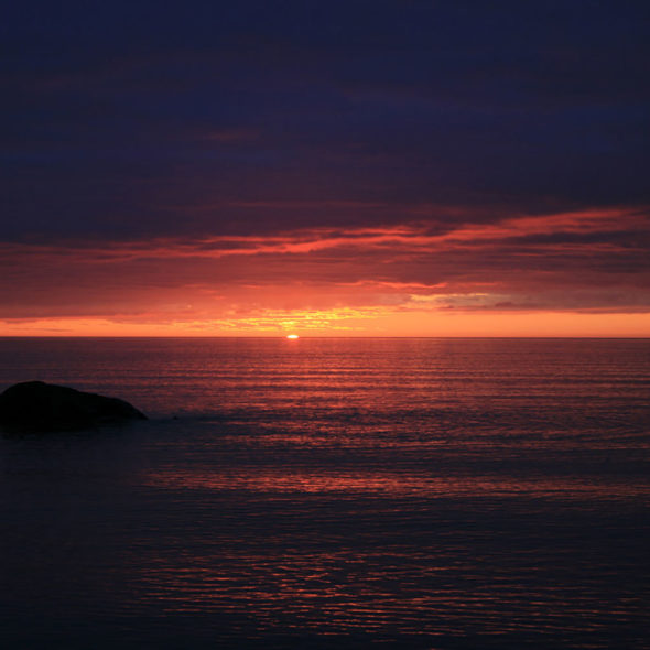 Lake Superior Sunrise by Courtney Celley