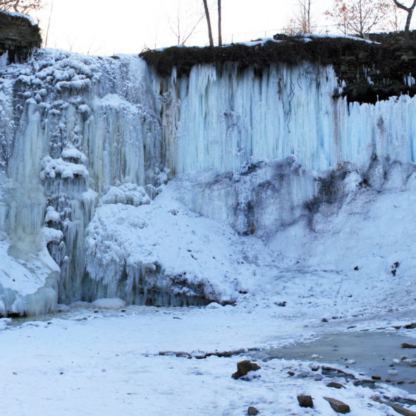 Frozen Falls by Courtney Celley