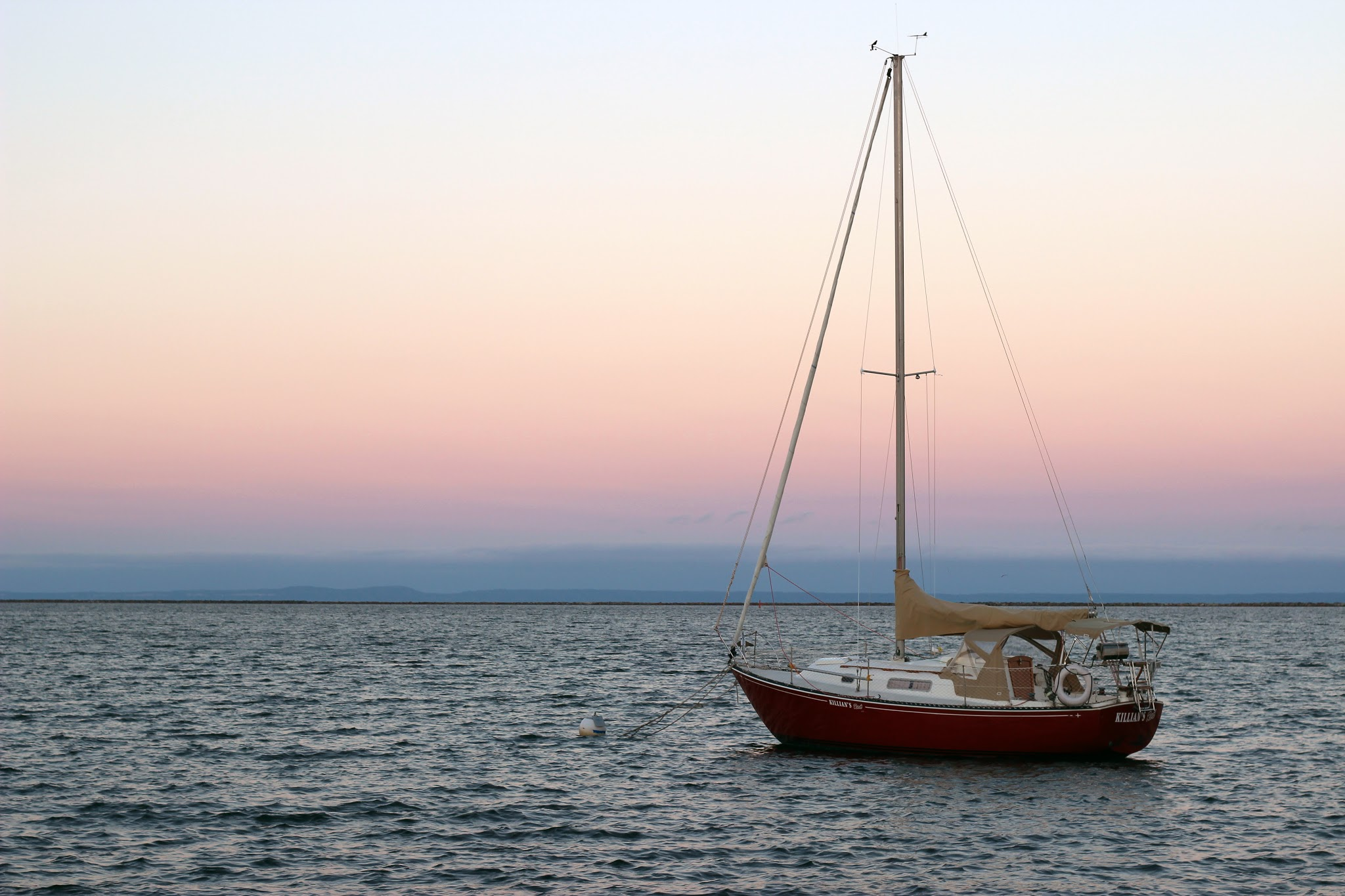 Sailboat on Lake Superior by Courtney Celley