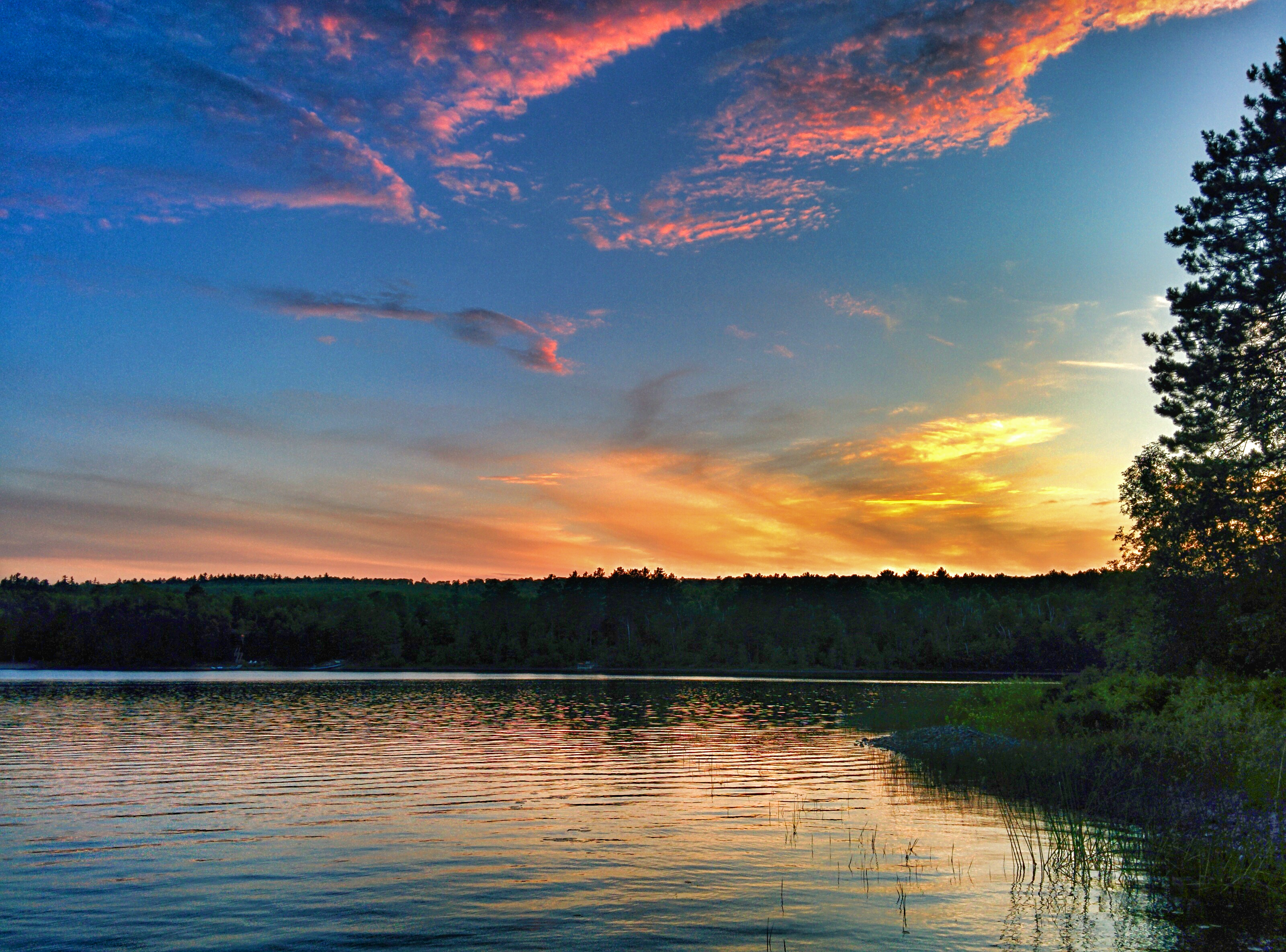 Iron Range Sunset by Courtney Celley