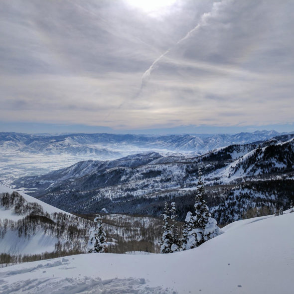 Perfect View - Brighton, Utah by Courtney Celley