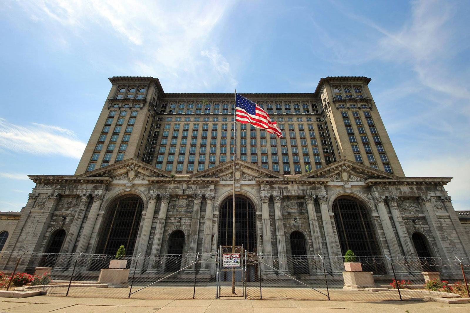 Detroit Central Station by Courtney Celley