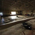 Flooded Gym in an Abandoned School by Courtney Celley