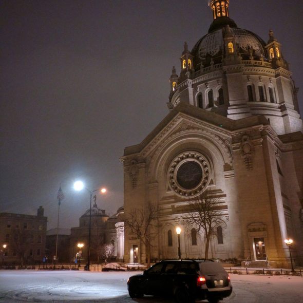 Snowy in St. Paul by Courtney Celley