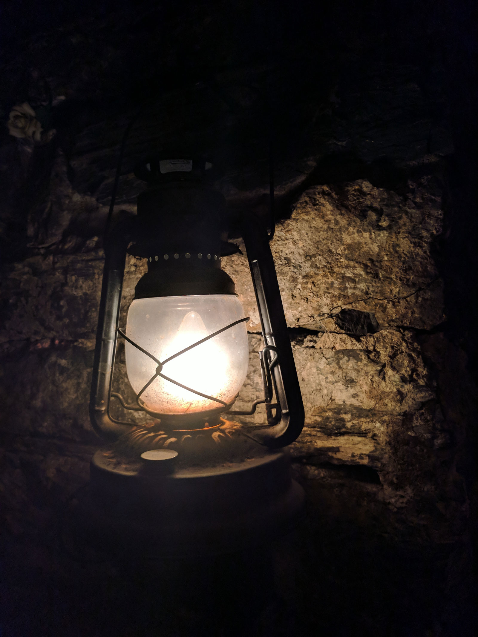 Old lantern by Courtney Celley
