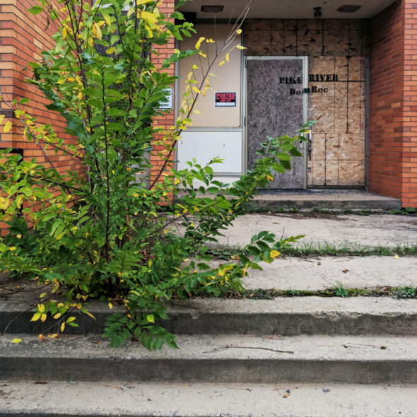 Posted - Abandoned School by Courtney Celley