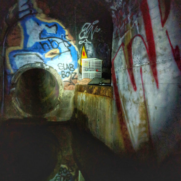 Someone's Home - Storm Drain by Courtney Celley