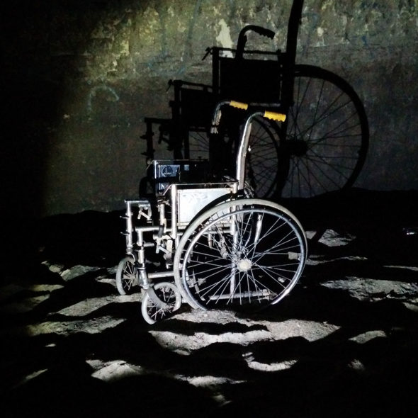 Underground Wheelchair by Courtney Celley