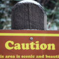 Caution: This area is scenic and beautiful by Courtney Celley